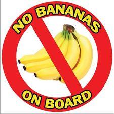 NIE bananom na pokładzie !